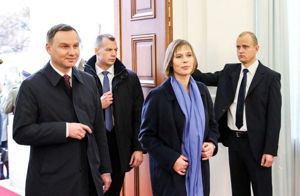 Kersti Kaljulaid Poolas