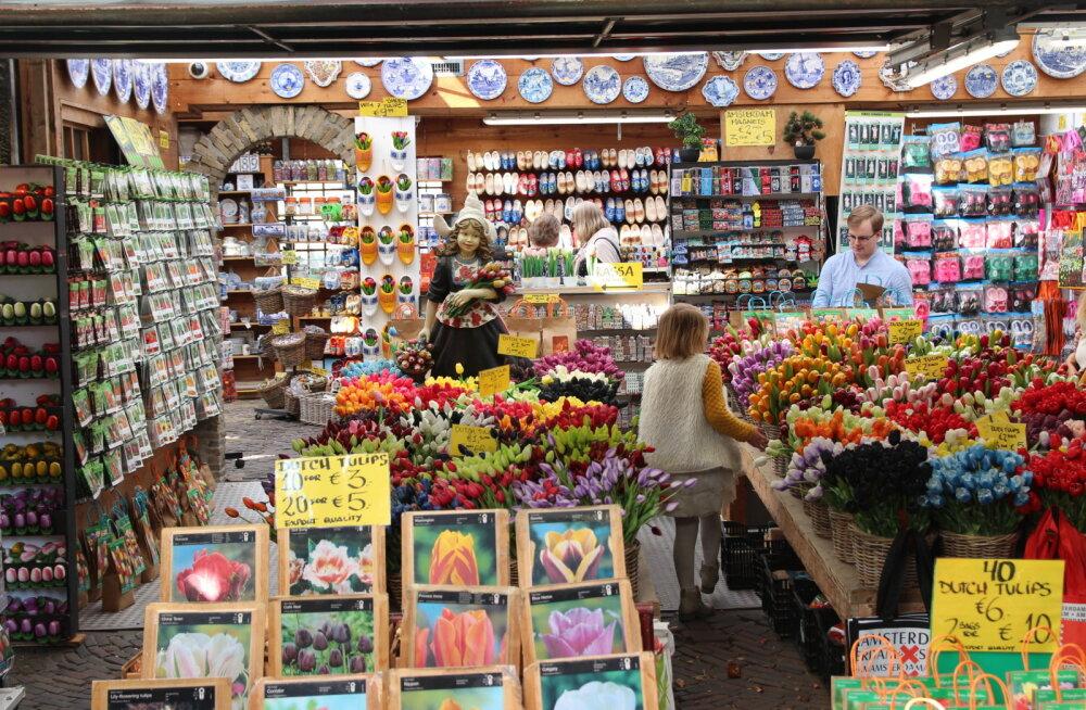 ГАЛЕРЕЯ DELFI. Прогулки по рынкам мира: что почем на цветочном рынке Амстердама