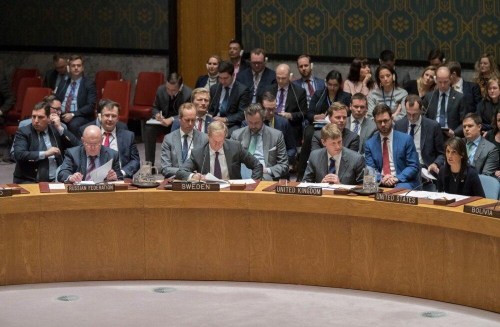 Suurbritannia sai ÜRO-s liitlaste täistoetuse, Venemaa väitis, et pole närvimürke novitšokke isegi uurinud