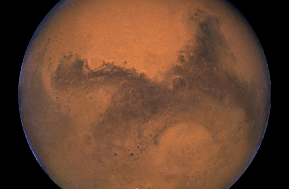 Värske uuring: Marsil on piisavalt hapnikku, et võimaldada elu