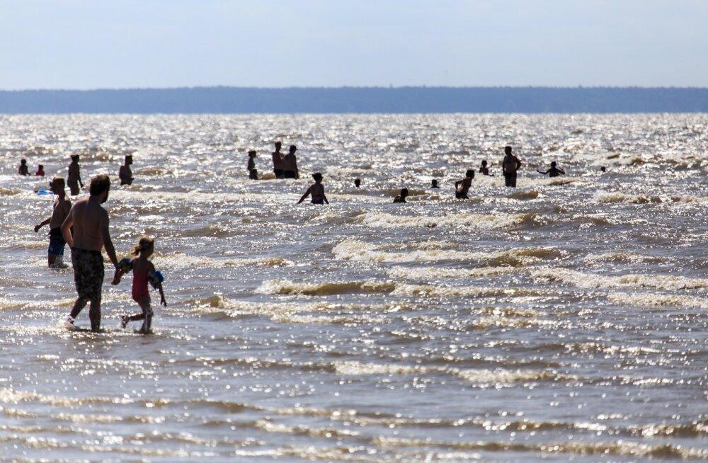 Puhkus Pärnu rannas.