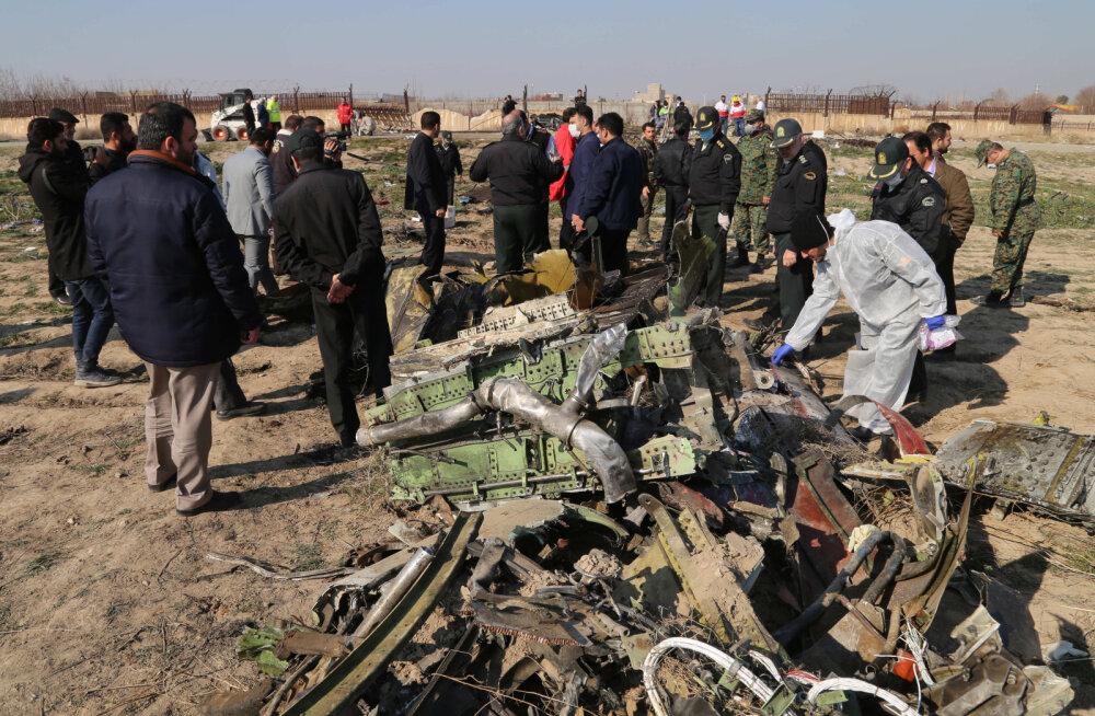 Ukraina julgeolekunõukogu sekretär: uurime Ukraina lennuki õhutõrjeraketiga allatulistamise versiooni