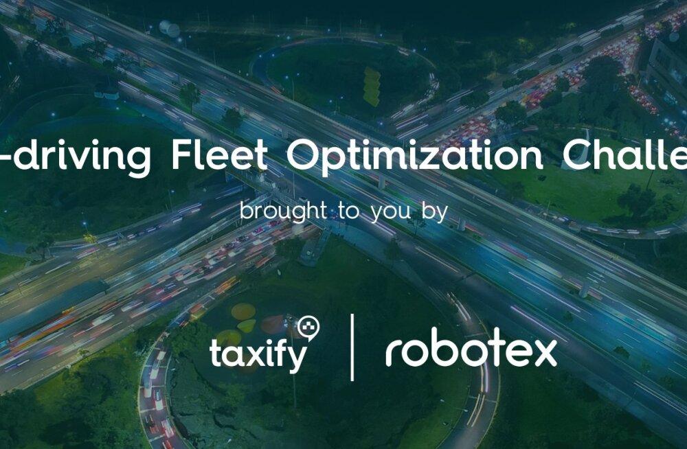 Taxify ja Robotex korraldavad tulevikulinna transpordimurede lahendamiseks masinõppe võistluse