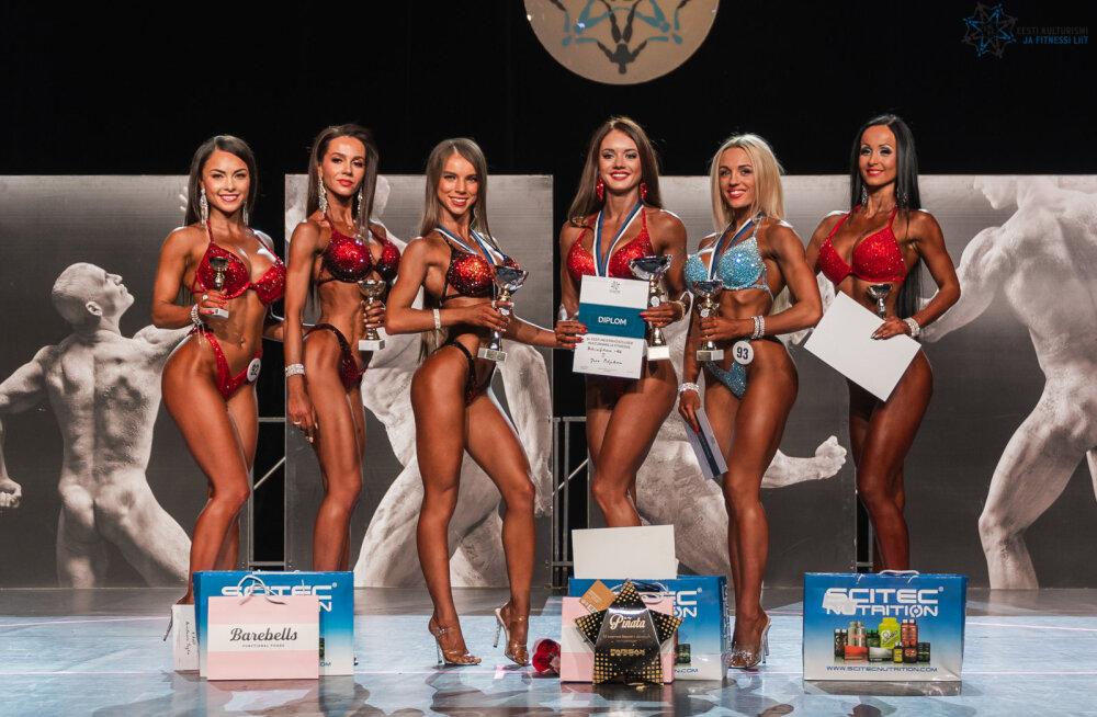 Eesti fitnessimeistrivõistluste debüüdil kulla võitnud Jana Poljakova: pool aastat tagasi ei kujutanud ette, et jagan lava Eesti parimatega