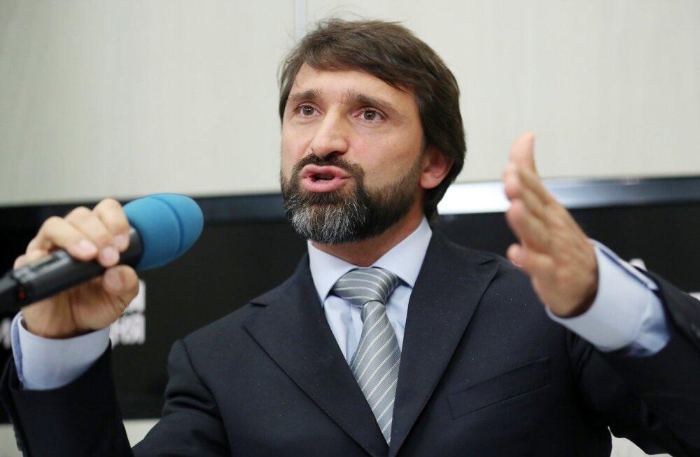 Venemaa Tõsteliidu president Maksim Agapitov.
