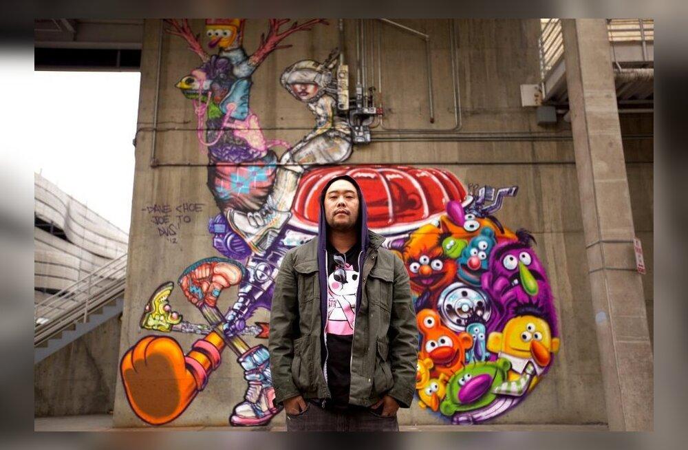 Grafitikunstnik teenis Facebooki kontori seinu kaunistades ootamatu varanduse