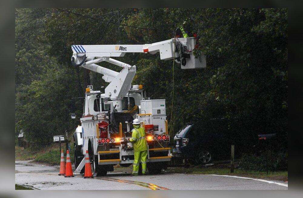 Orkaan Sandy majanduslik kahju võib ulatuda 20 miljardi dollarini