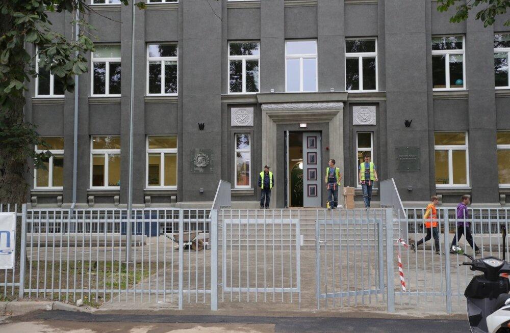 Tallinna haridusamet: GAG-i uue õppehoone puudused on enamjaolt likvideeritud
