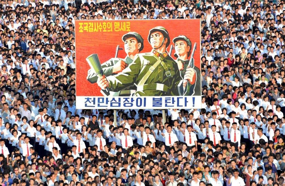 Põhja-Korea: kui Trump ei taha Ameerika impeeriumi traagilist hukku, rääkigu ja käitugu korralikult