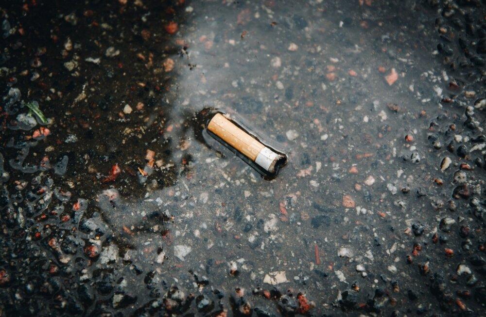 Suitsukonid tänaval