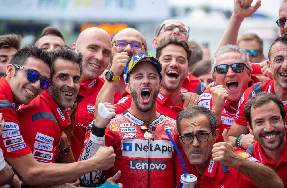 MotoGP: Dovizioso alistas Austria GP põnevas duellis Marquezi