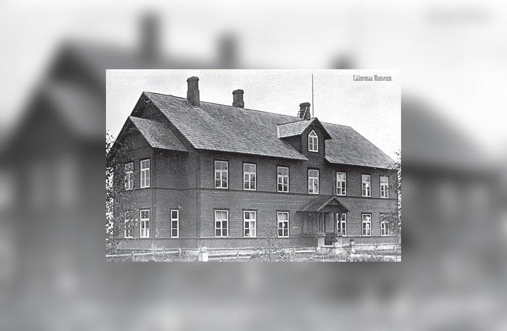 Kunagine Silla koolimaja (Foto: Läänemaa Muuseum)