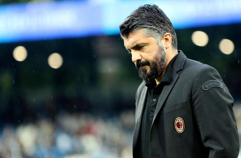 Gennaro Gattuso pani Milani peatreeneriameti maha