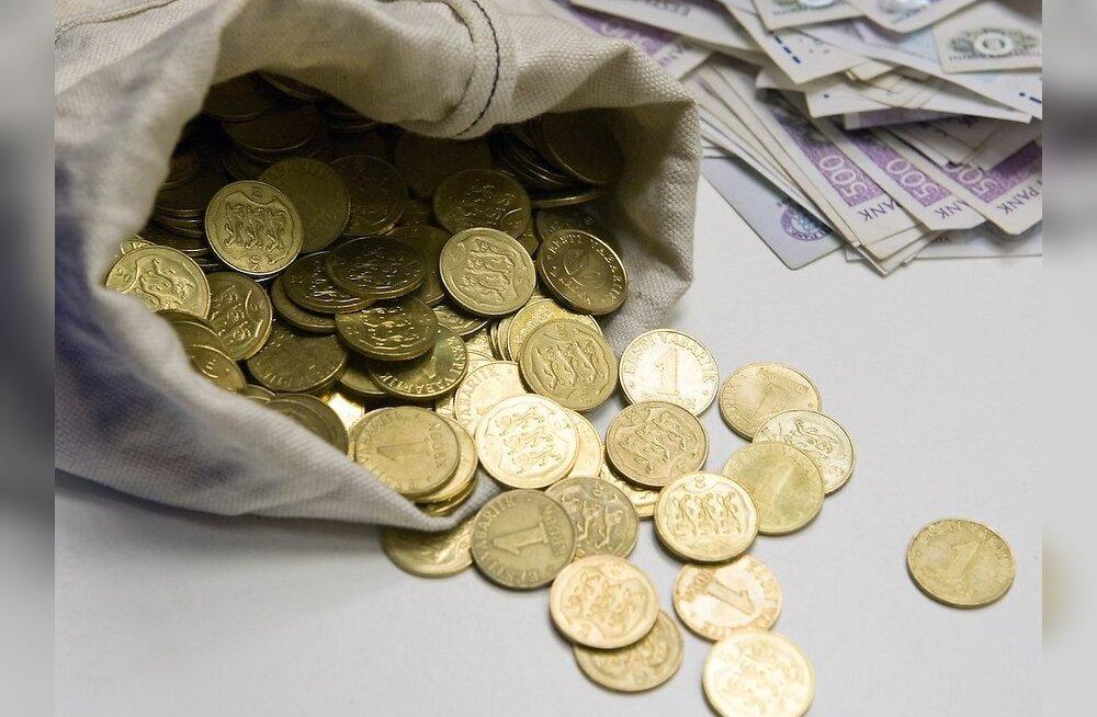 Коммерческие банки больше не обменивают эстонские сенты на евро?