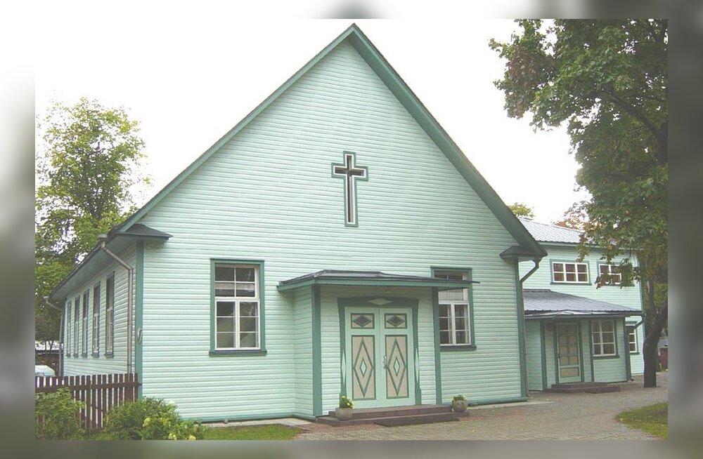 Nõmme baptistikoguduse palvela. Foto: Heldur Kajaste
