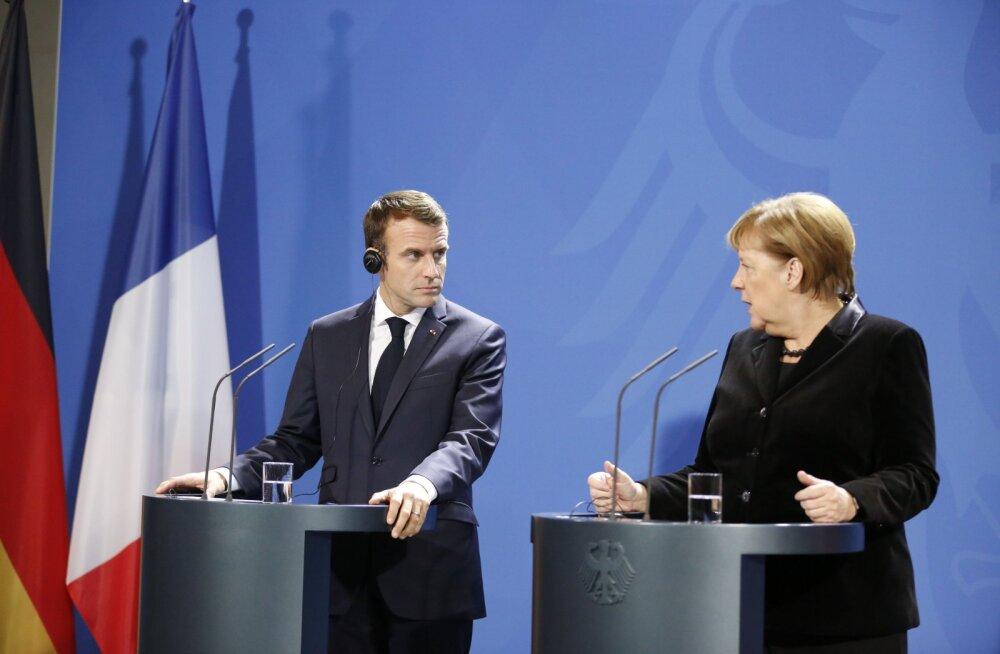 Merkel ja Macron nõuavad, et Venemaa vabastaks Ukraina meremehed