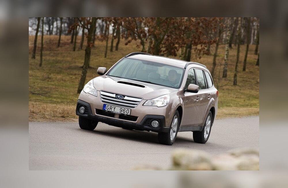 Eestisse jõudis müüki Subaru Outbacki eripartii