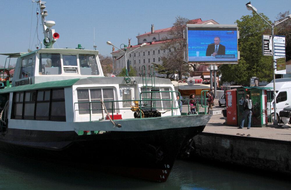 Uurimiskeskus: Lääne kaubalaevad käivad sanktsioonidele vaatamata Krimmis
