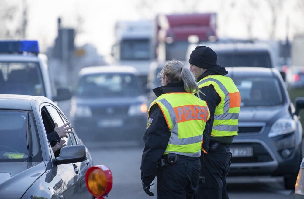 """Saksa piiripolitseile jäi marihuaanaga vahele end """"Eesti rokkstaariks"""" nimetanud mees"""