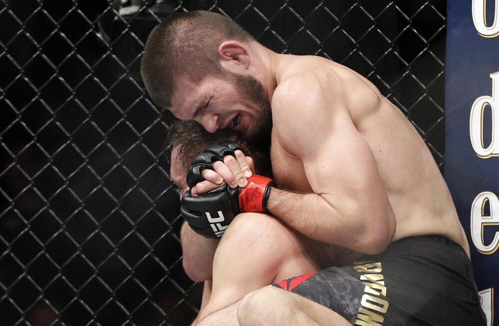 Khabib Nurmagomedov kägistab Conor McGregorit