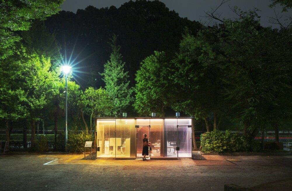 Японцы придумали туалет-фонарь
