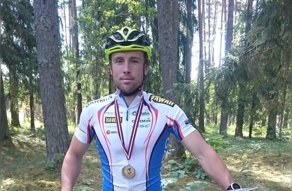 Lauri Malsroos alustas rattaorienteerumise MM-i kaheksanda kohaga