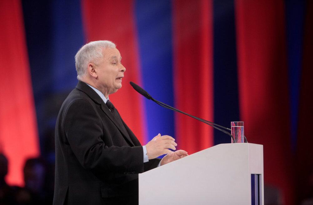 Poola valitseva erakonna PiS juht Kaczyński geidele: hoidke meie lastest eemale!