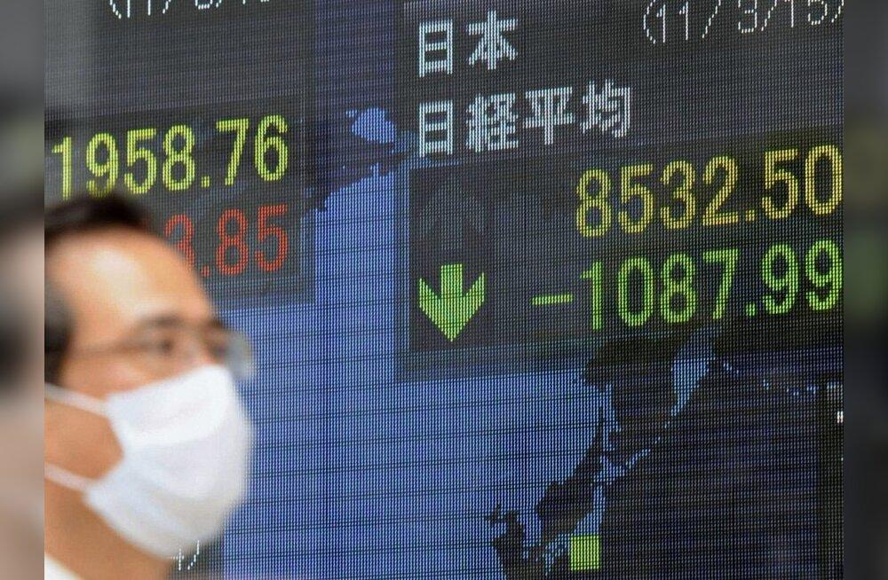 Eesti Pank: Jaapani katastroof lisab maailmamajandusse ebakindlust