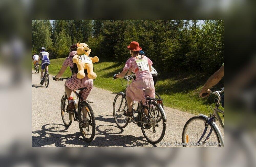 Spordiürituste tõttu on liiklus häiritud kolmes maakonnas