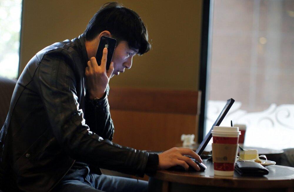 Telefoniomaniku dilemma: kuu aega võrgus või tass kohvi?