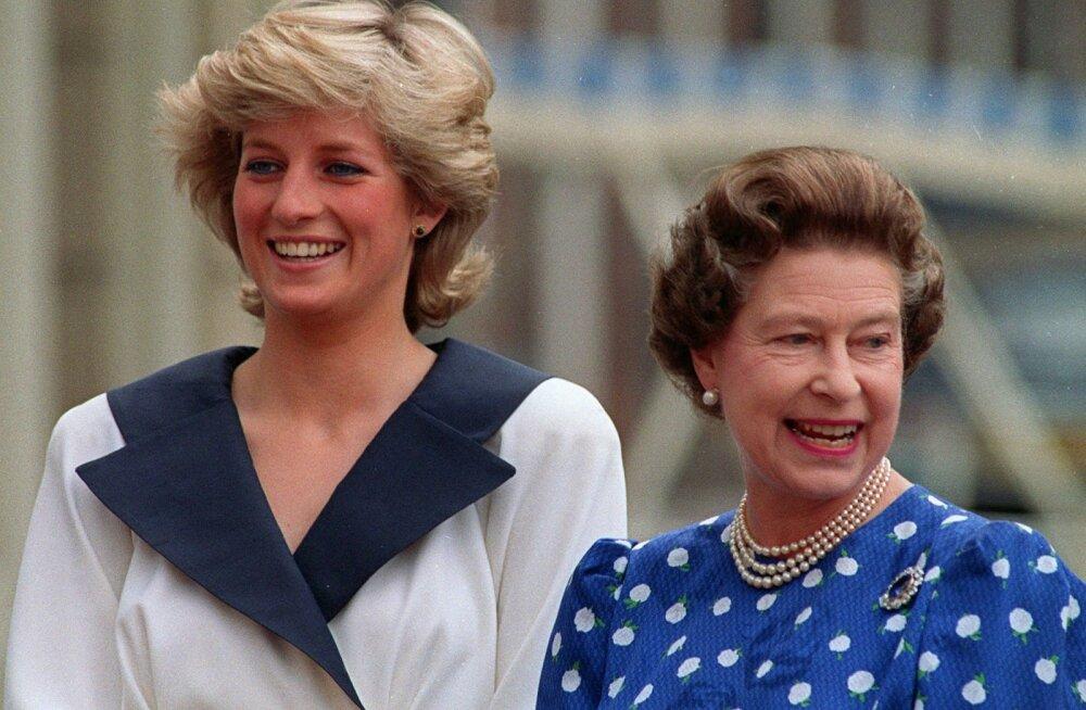 Mitte tavaline ämma-minia suhe: miks kartis Elizabeth ll printsess Dianat?