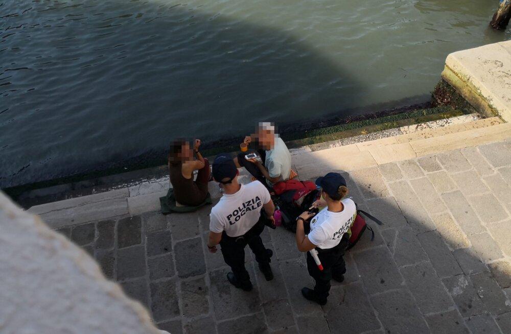 Veneetsia tahab piknikut pidavate turistide linnast lahkumist