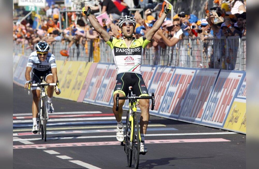 Giro d'Italial taas üllatusvõitja