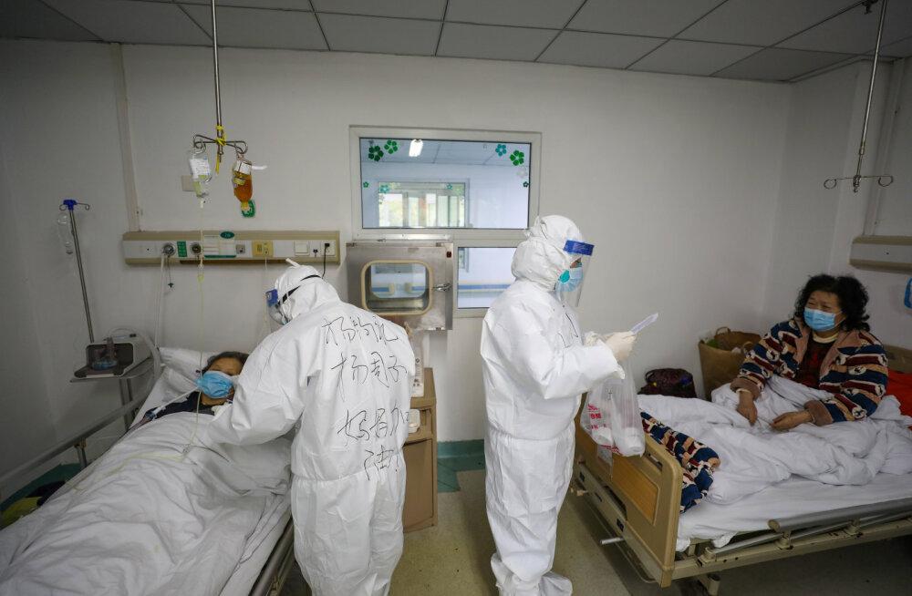 WHO: vaatamata hüppele Hubeis ei ole koroonaviiruse puhangu arengus muutusi