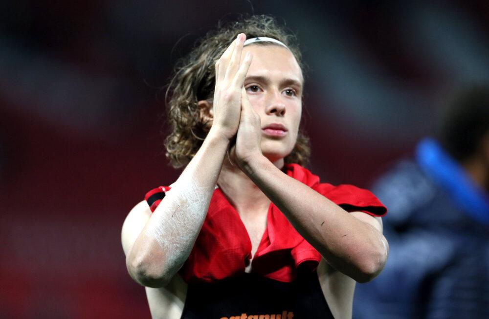 VIDEO   16-aastane koolipoiss tegi enne psühholoogia kontrolltööd Manchester Unitedi vastu skoori, Solskjaeri hoolealused päästis penaltiseeria
