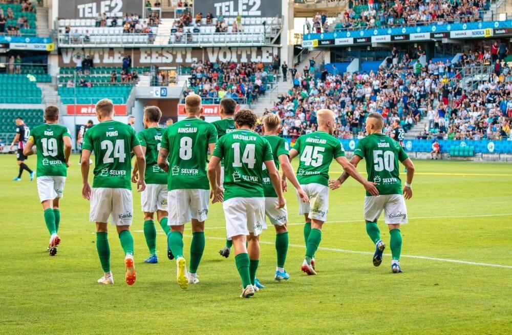 Avamängus Frankfurdi Eintrachti vastu jättis Flora Euroopale endast hea mulje.