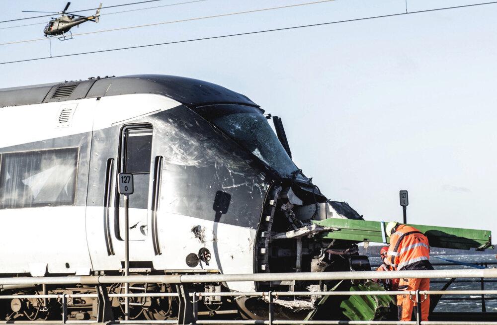 Taani rongiõnnetuse järel leiti veel kaks hukkunut, kokku on neid kaheksa