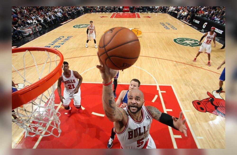 VIDEO: Bulls katkestas Knicksi kahe aastakümne pikima võiduseeria