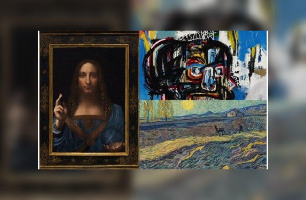 Десять самых дорогих картин мира, проданных в 2017 году