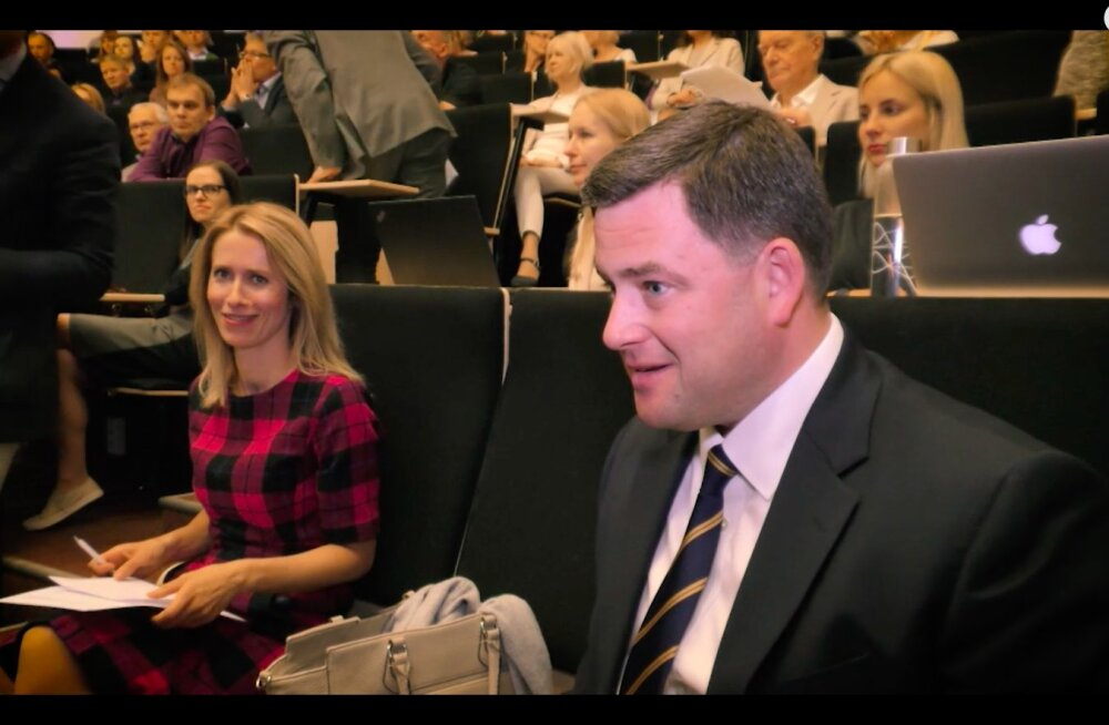 LUUBI ALL: Mida ütles Kaja Kallas silmi pööritades püstolreporter Lusti haardes olevale Swedpanga juhile Robert Kitile?