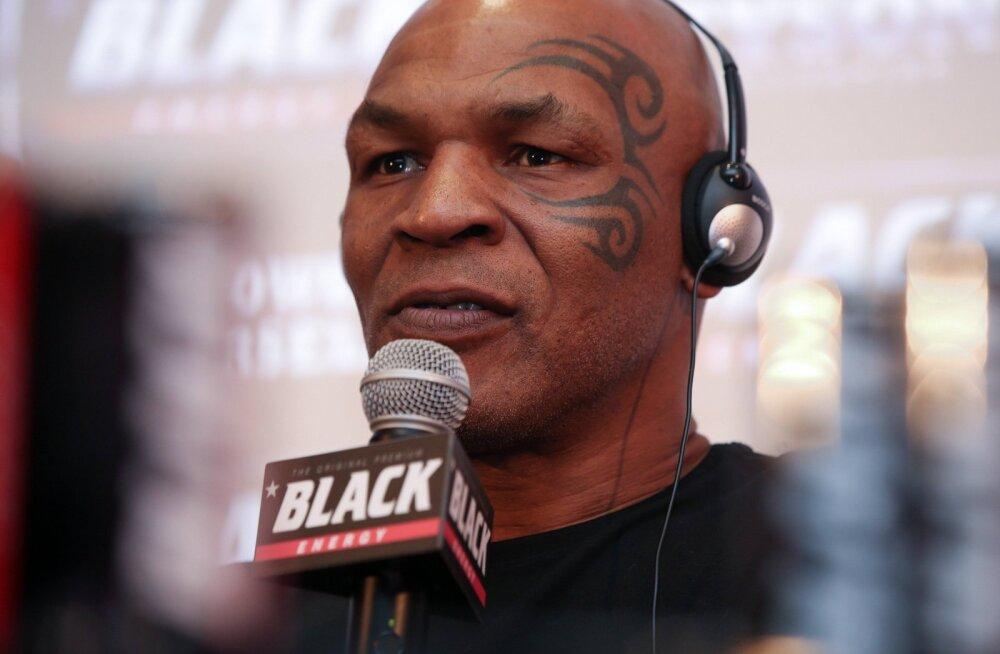 Mike Tyson avaldas oma unistuste vastase: tema vastu tuleb räpaselt poksida