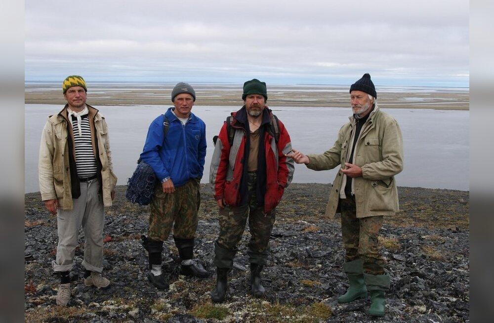 Рихо Вястрик и его друзья снимают российский север