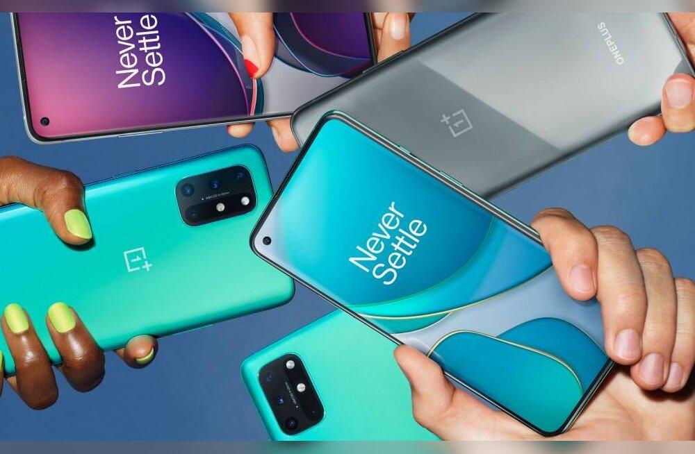 OnePlusi telefon 8T muudab tootja teised uued mudelid nukralt ebatähtsaks