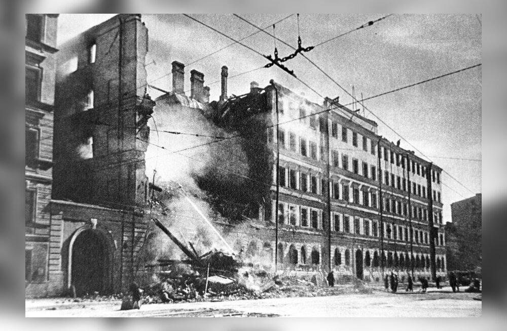 NTV: Peterburis keelati Leningradi blokaadi lõppemise aastapäeva eel Saksa reklaamid