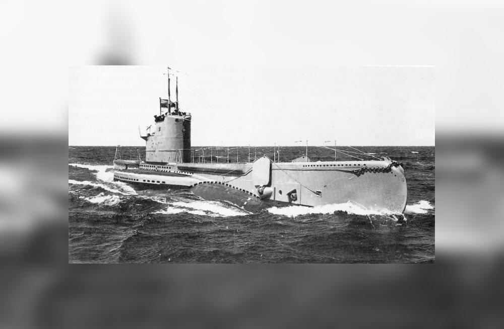 Märtsi Horisont otsib mõistatuslikult kadunud allveelaeva Kalev