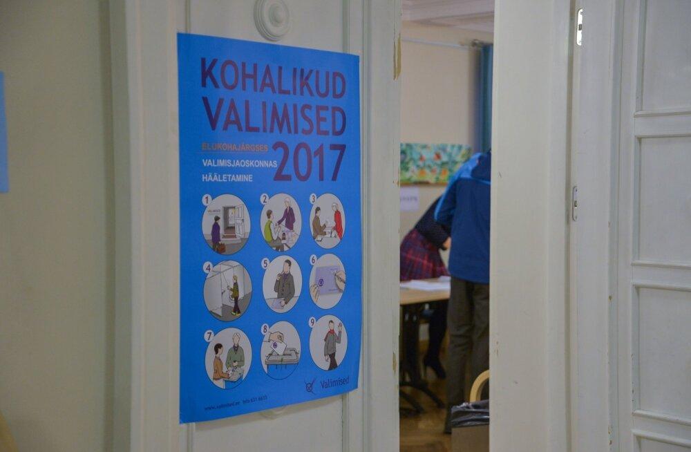 GRAAFIK | Valimisaktiivsus on tunduvalt madalam kui eelmistel kohalikel valimistel