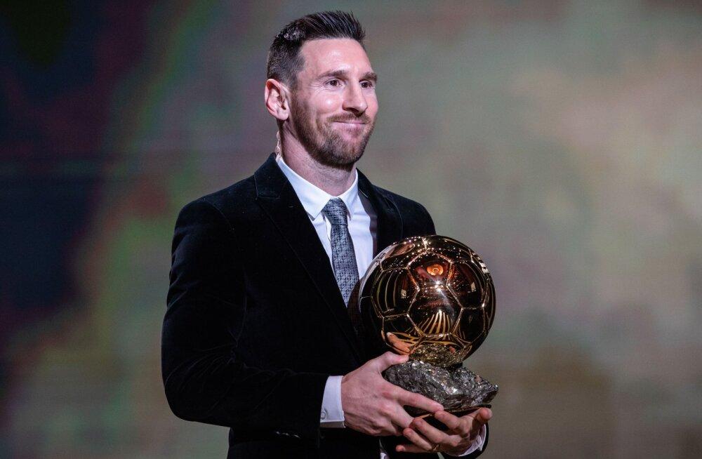 Messi, Ronaldo ja Co tänavu Ballon d'Ori nimel konkureerima ei hakka