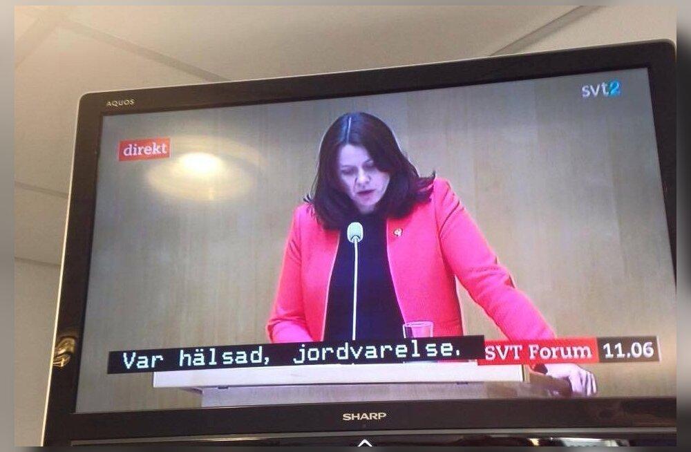 Rootsi telekanal pani lastesaate subtiitrid poliitilise debati alla ning tulemust peab lausa ise nägema