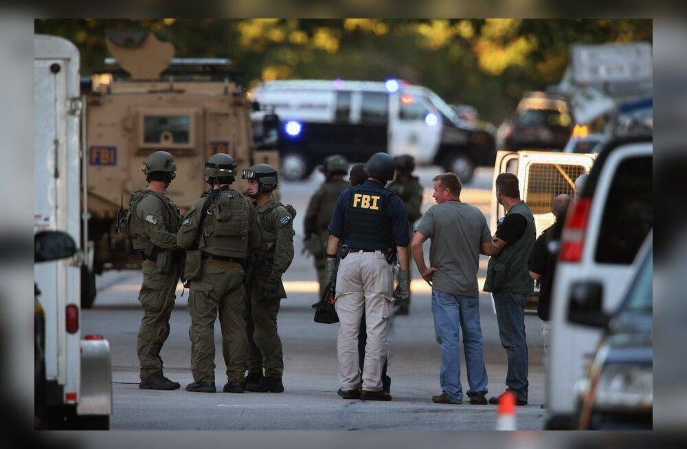 USA politsei evakueeris inimesed templitulistaja kodu ümbrusest