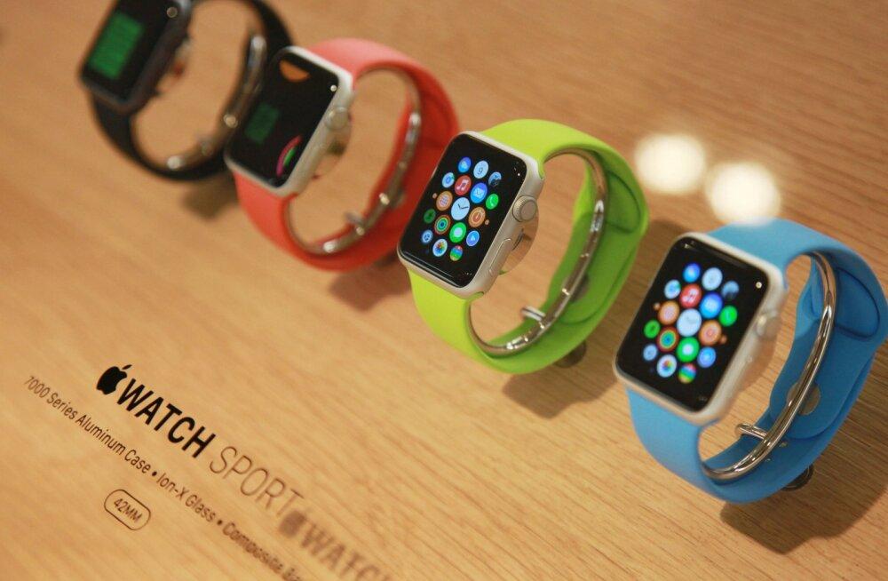 Kaks huvitavat infokildu Apple'i nutikella Watch kohta